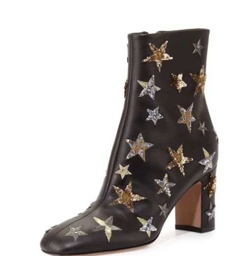 Valentino-sequin-star-ankle-boots