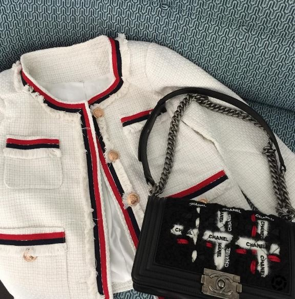 Chanel ISH jacket