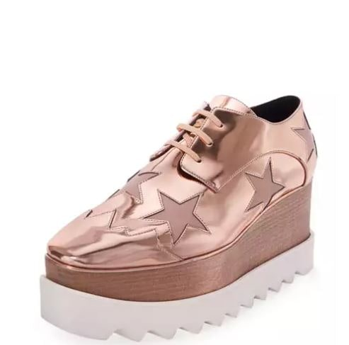 Stella McCartney Star platform shoes