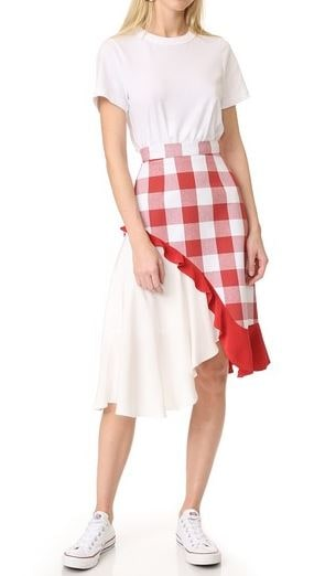 Pamplemouse Phoebe tablecloth skirt