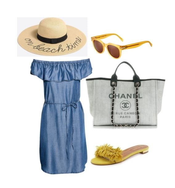 Chanel deauville tote for a vacation in france shopping and info