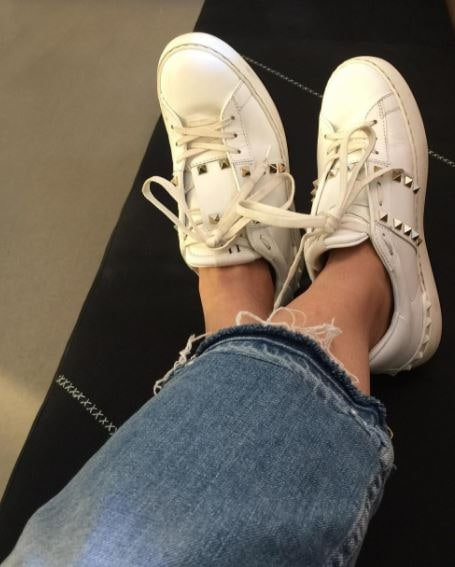 Valentino untitled stud sneakers