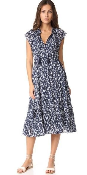 Ulla Johnson floral dress