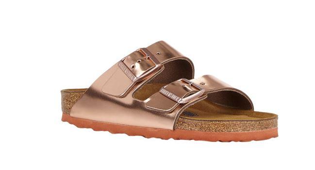 double-strap sandals - Metallic Birkenstock Xm2HayWihw