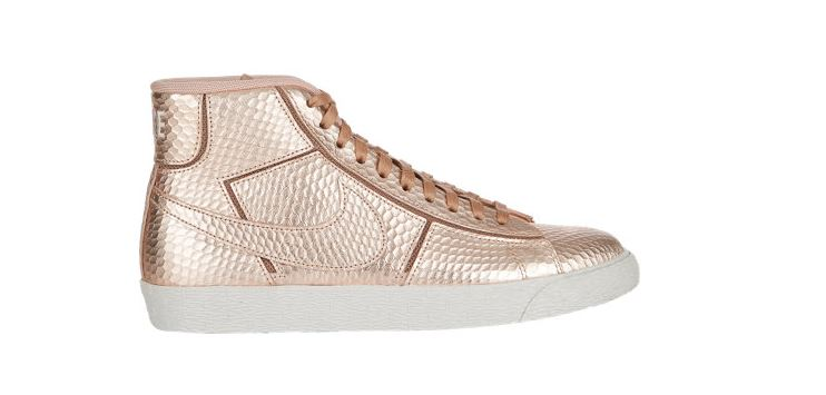 Nike Rose Gold High Top Sneakers Shopping And Info