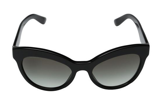 62873b7586 Prada Black Cat Eye Sunglasses for Spring 2015 – whether it is freezing and  still snowing ...