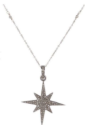 Feathered soul diamond starburst pendant necklace shopping and info the feathered soul diamond starburst pendant necklace is bohemian nicole richie style mozeypictures Images