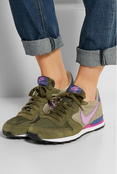 8af280340c7 Nike Internationalist Suede Mesh Sneakers - Shopping and Info