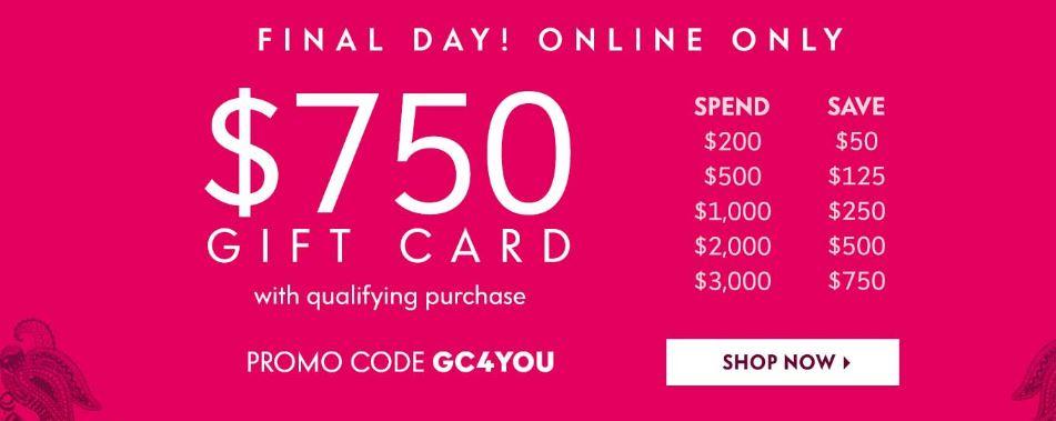 f316fa6eddf6 Neiman Marcus Cyber Monday Get $750 - Shopping and Info