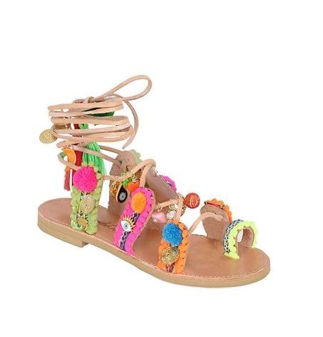 BonBon pom pom sandals