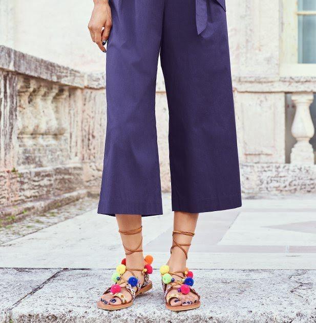 Pom Pom Sandals for spring