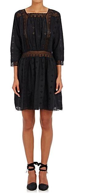 Ulla Johnson black lace dress