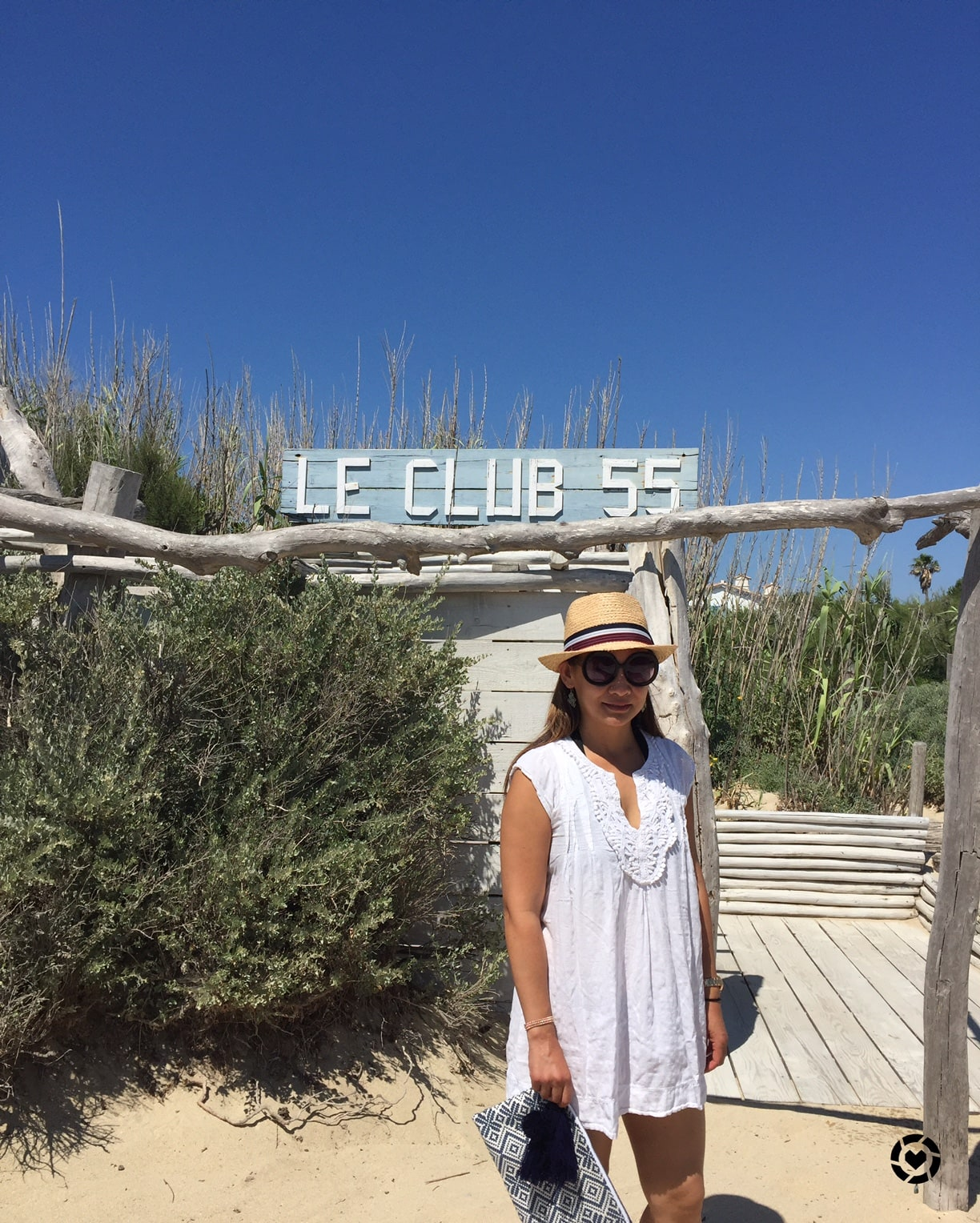 club 55 beach in saint tropez and what to wear shopping and info. Black Bedroom Furniture Sets. Home Design Ideas