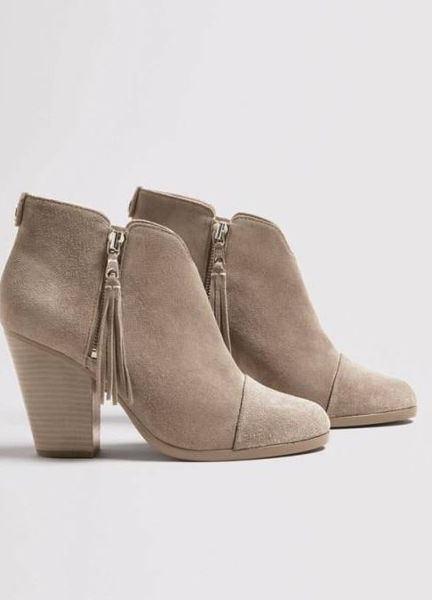 These Tory Burch Marsden Bootie are so classic! They are a beautiful camel color and will be perfect with any fall outfit. They will definitely sell out quickly! They run TTS. Over the knee boots were a huge trend last season and they will definitely be back this fall!
