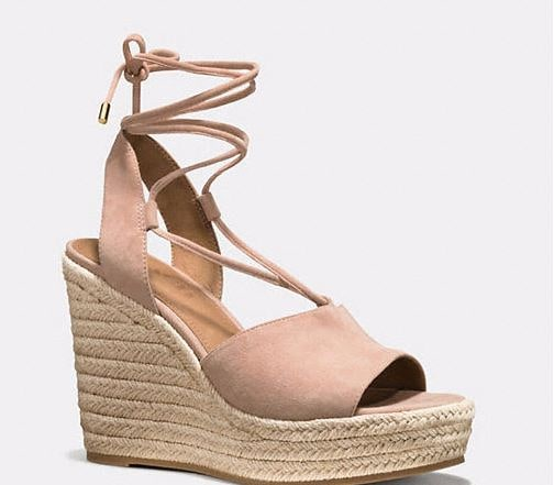 267961c4b71 Coach Dana Espadrille Wedges SALE - Shopping and Info