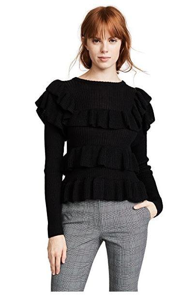 Ulla Johnson ruffle sweater
