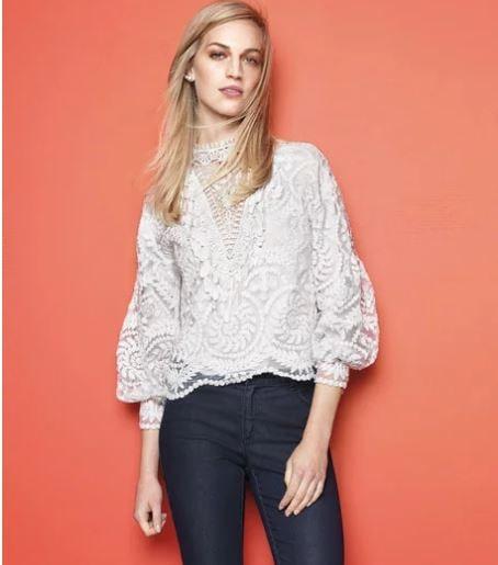 Kobi Halperin lace top sale