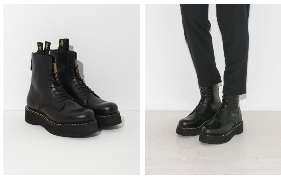 R13 stack boots sale