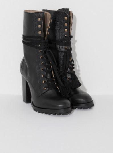 Ulla Johnson Moira Lug sole boots
