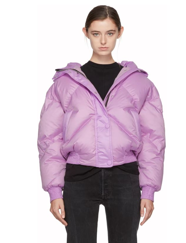 Lenki Lenki purple lilac puffer jacket