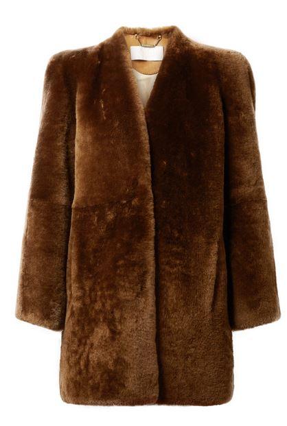 Chloe shearling coat