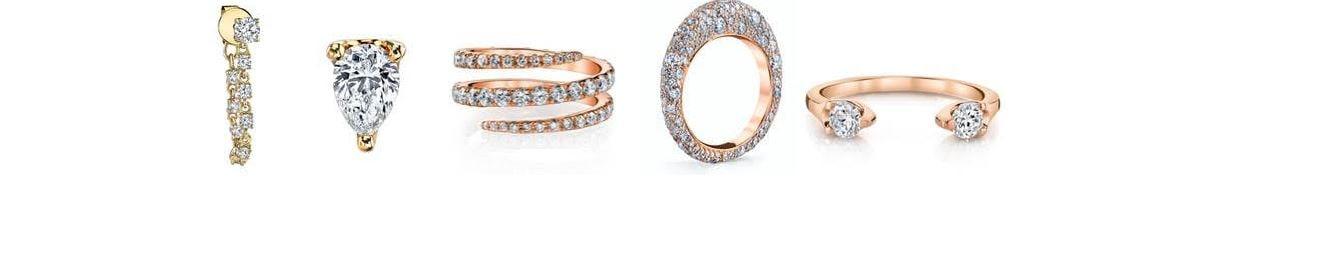 Emilia Clarke Golden Globe Jewelry Anita Ko