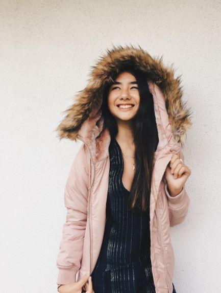 Pink Puffer Hoodie Jacket