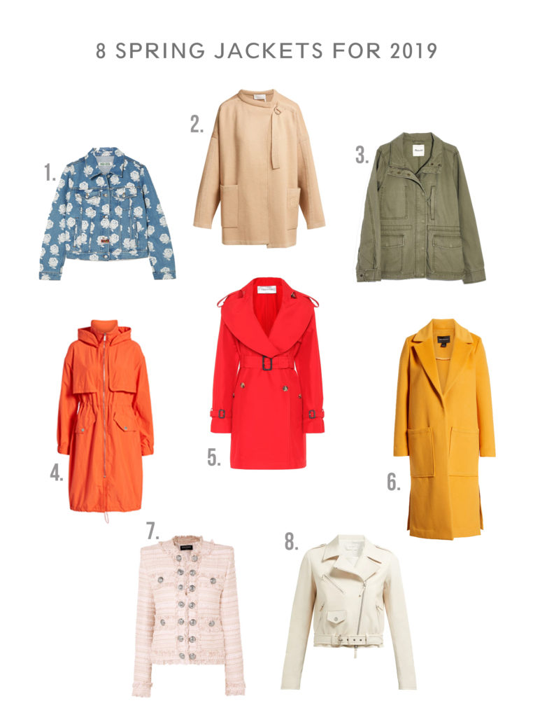 90e34cef58665 Best Spring Jackets for 2019 - Shopping and Info | Top Jackets for ...