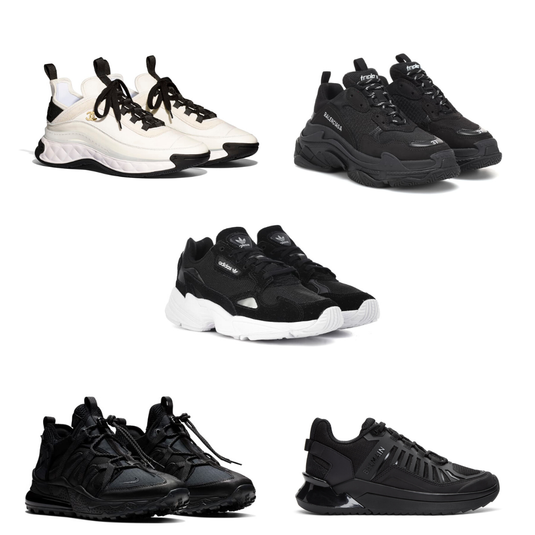 Top 5 Chunky Sneakers For 2020