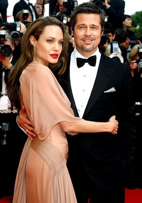 Angelina Jolie nude dress Cannes 2009 | ShoppingandInfo.com
