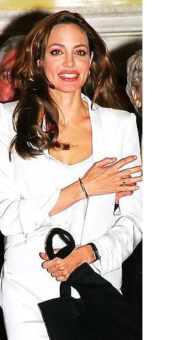 David Yurman Cable Gold Bracelet Seen On Angelina Jolie