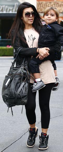 Kourtney Kardashian Fashion Style