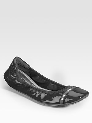 Ballerina Shoes Black And White