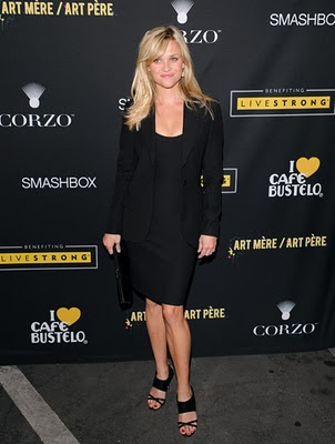 Reese Witherspoon C. Greene Earrings at LiveStrong Charity ...
