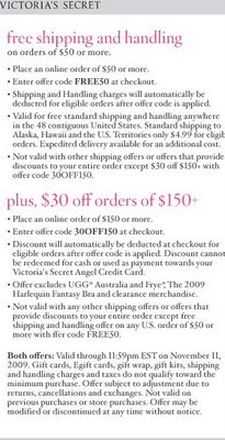 Victoria's Secret Coupon Codes | ShoppingandInfo.com