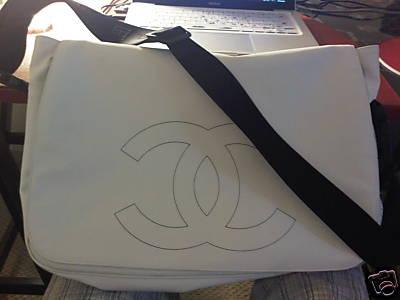 Chanel Messenger Handbag Chanel White Messenger Bag