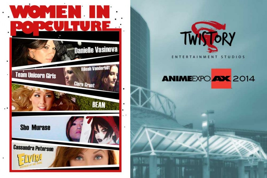 Anime Expo Women Pop Culture4 Women in Pop Culture at Anime Expo July 3, 2014