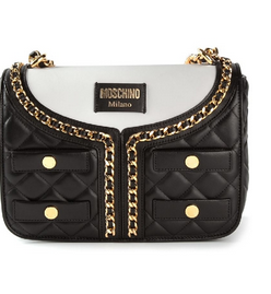 Moschino quilted leather jacket bag 1 Moschino Quilted Leather Jacket Bag   TOO AWESOME