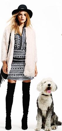 Bohemian Faux Fur Coats Trends for Fall