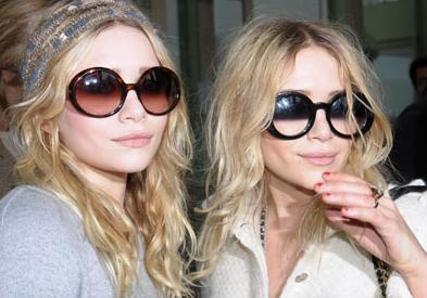 Linda Farrow Sunglasses Olsens Olsens and Kim Kardashian love Linda Farrow Sunglasses