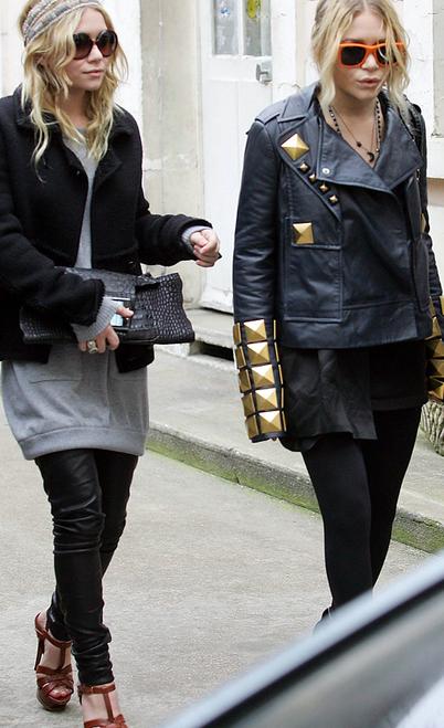 olsen leather leggings1 Faux Black Leather Leggings Olsens Style for Fall