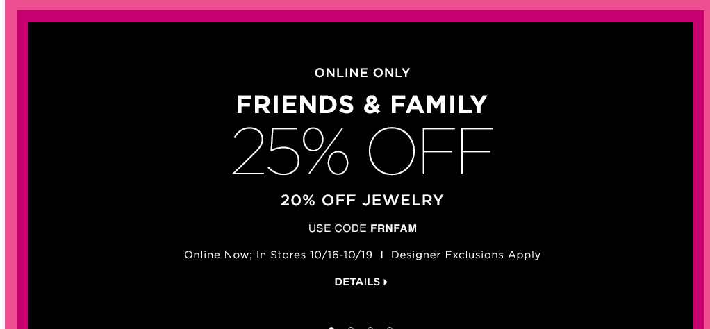 saks sale Saks Friends and Family Sale   Hurry almost over