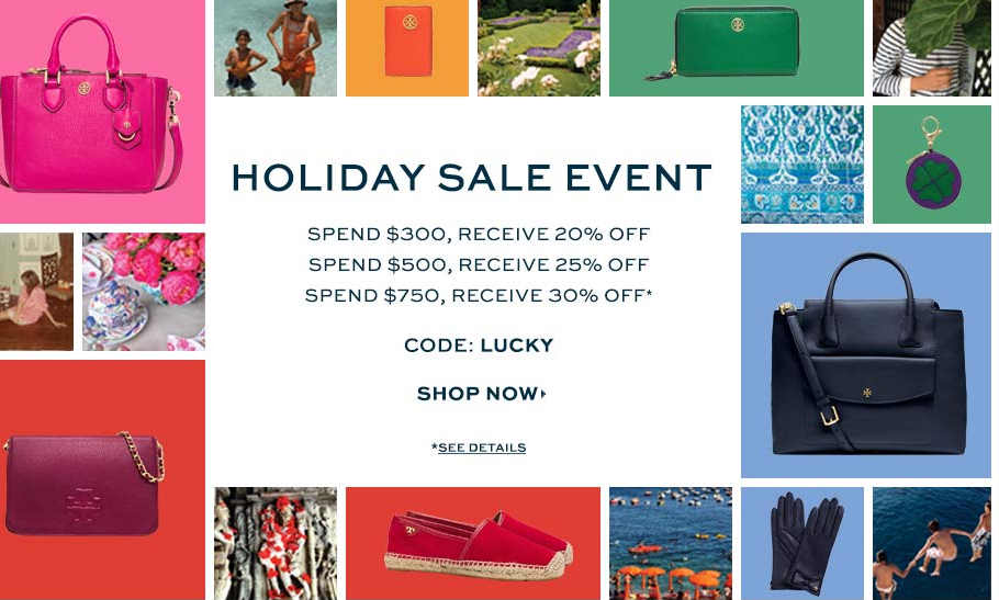 Tory Burch holiday sale event Tory Burch Holiday Sale Event on Now