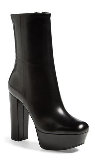 Gucci Platform boots sale Gucci Black Leather Platform Boots on SALE