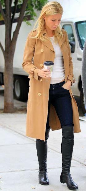 Gwyneth Camel coat Gwyneths Camel Coat is Perfect for Winter