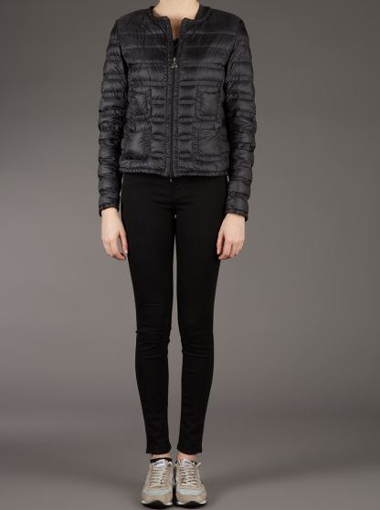 Moncler Chanel Style Puffer Jacket Spring 2015