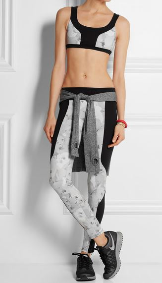 Live the Process workout clothes Live The Process Printed Leggings are to Die For