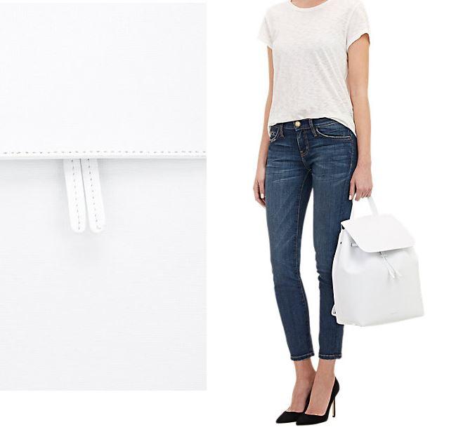Mansur Gavriel White leather backpack Mansur Gavriel Large White Backpack
