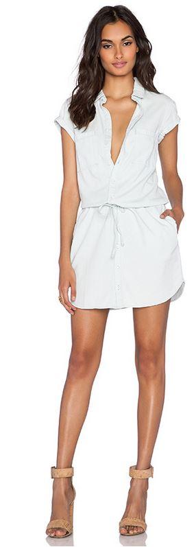 Paige Denim Mila Shirtdress Paige Denim Mila Shirtdress