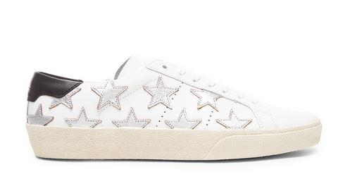 Saint Lauren star court sneakers Saint Laurent Star Court Sneakers